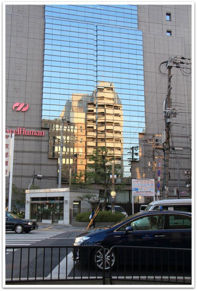 Upea Kioto on suurimmaksi osaksi, varsinkin juna-aseman seudulla, melkoista betonilähiötä.