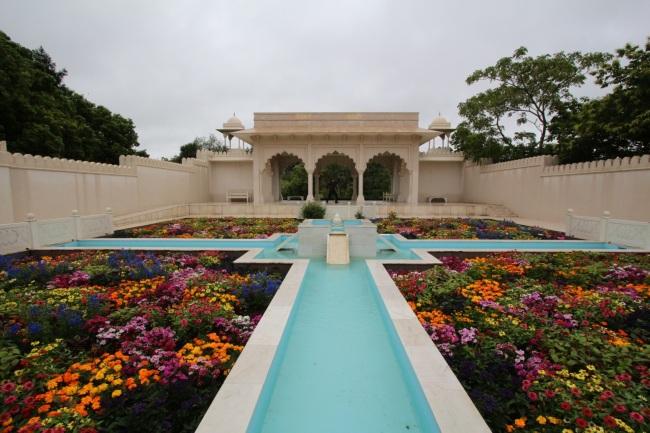 Intialainen puutarha