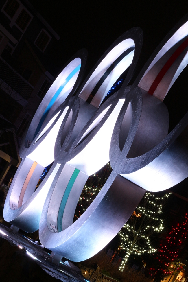 Ai niin, Whistlerissä laskettii Vancouverin olympialaisten  (ja paraolympialaisten) vauhtilajit.
