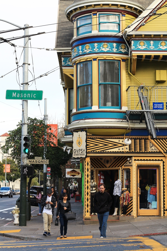 San Franciscon Haight Ashbury.